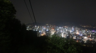 Night View from the ride down